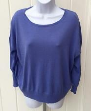 Ralph Lauren womens Polo boatneck lightweight sweater bar harbor blue small $98