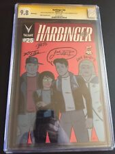Harbinger #25 Valiant Comics CGC SS 9.8 1274043001 ONLY 9.8 SS Hernandez Tiwary