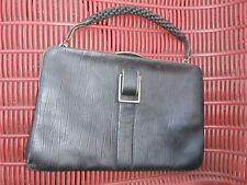 SAC à MAIN Cuir ANCIEN Bourse 1930/40 ...bon état....accessoire vintage...