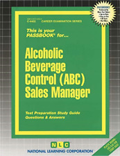 National Learning Corporation-Alcoholic Beverage Control (Abc) Sales Ma BOOK NEW