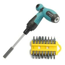 T Handle Screwdriver Set 16 Heads Hex Allen Key Slot Phillips Sockets Star