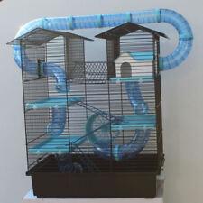 SUPER Hamsterburg Hamsterkäfig mit gigantischem Zubehörpaket Mäusekäfig Stall