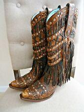 Corral Vintage Boots Women's 9 Fringe Excellent Condition