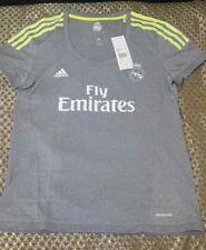 Real Madrid women away football shirt size L/16-18 Adidas 2015 2016 BNWT