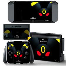 Pokemon Umbreon Eevee VINYL SKIN Screen Protector for Nintendo Switch Joy-Con
