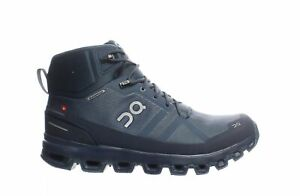 On Cloud Mens Cloudrock Blue Hiking Boots Size 10 (1859109)