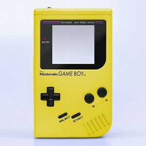 Game Boy Original Shell Case Pearl Yellow Replacement GB DMG-01 RetroSix ABS IPS