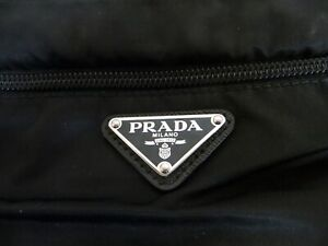 Authentic Prada Milano V44 Nero Side black bag Men's or Women's with cover