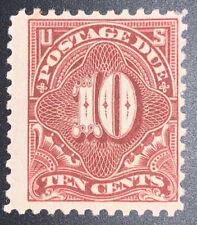 Travelstamps:US Stamps Scott #J65 10c Denomination Postage Due Mint OG Hinged