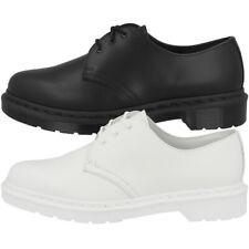 5a10d4cd13425e Dr Doc Martens 1461 Mono Leder Unisex Schuhe 3-Loch Freizeit Klassiker Boot  1434