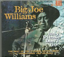 Big Joe Williams - Baby Please Don't Go (CD, Comp)