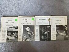 Vintage Brooklyn Botanic Plants Gardens Lot 4 Handbooks Propagation Pests Weeds