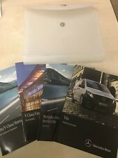 Mercedes Vito Tourer Owners Manual Manual W447 2016
