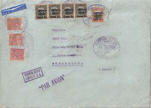 Brasilien Luftpost-Brief Rio de Janeiro - Strassburg, 1928