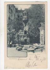 Heidelberg Schlosshof Erker 1902 U/B Postcard Germany 081b