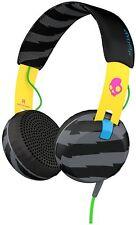 Skullcandy Leicht Kopfhörer Headset Grind TAP TECH On-Ear Schwarz Gelb NEU & OVP