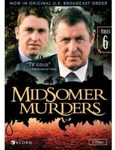 Midsomer Murders: Series 6 [New DVD]