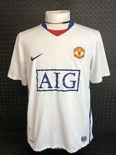 Manchester United 2008-09 Away Football Shirt Size Medium Man Utd Nike See Pics