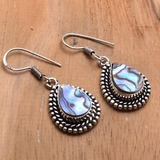 "Earrings Jewelry 1.48"" Ae 85464 Abalone Shell Handmade Drop Dangle"