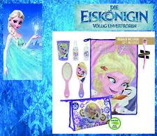 Eiskönigin Frozen Waschset Kulturbeutel Waschtasche Kinder Disney