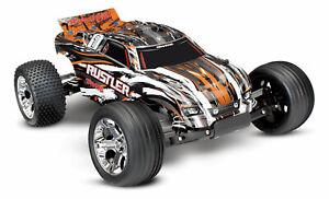 TRAXXAS Rustler XL5 2WD BRUSHED Orange 37054-4 Arancione 1/10