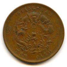 Chine Empire Kiang-Nan 10 Cash (1875-1908)