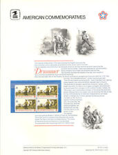 #23 8c Drummer Stamp #1479  USPS Commemorative Stamp Panel