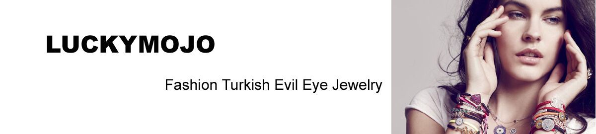 LUCKYMOJO Turkish Evil Eye Jewelry
