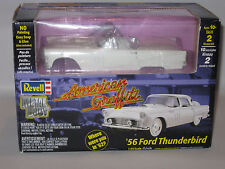 REVELL 1/25 '56' FORD THUNDERBIRD - AMERICAN GRAFFITTI  -UNMADE BOXED CONDITION