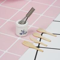 1:12 Puppenhaus Miniatur Geschlagene Gerät Eier Spatel Küche KochgeschirrTO X9M1