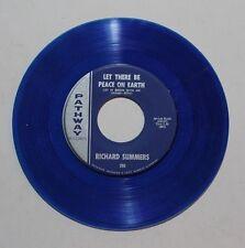 RICHARD SUMMERS Wonderful Child 45 Pathway Rec. 260 US VG++ RARE BLUE DISC