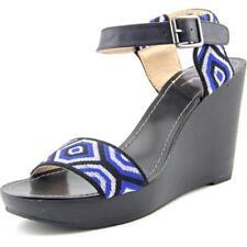 Sandalias y chanclas de mujer de color principal negro de lona talla 42