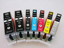 7Pk PGI270 XL CLI271XL Ink Cartidge for Canon Pixma MG7720 5722 MG6820 6822 5720