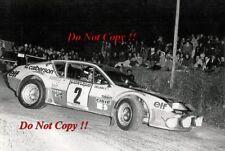 Guy Frequelin Alpine-Renault A310 V6 Criterium des Cevennes 1977 Photograph 1
