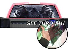 P23 Grim Reaper Rear Window Tint Graphic Decal F150 Ram silverado 1500