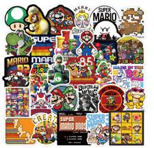 Super Mario Stickers 100 Sticker Decal new Lot