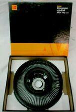 Kodak Ektagraphic Universal Slide Tray Model 2 Box 80 Original Slides Carousel