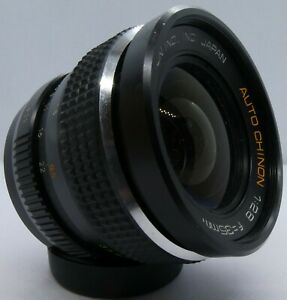 Vintage Auto Chinon f2.8, 35mm Wide Angle Lens, 42mm fit, Ser. 533333, needs TLC