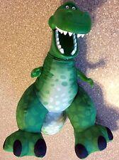 "BIG ROARIN REX roars TOY STORY plush 14"" disney pixar FISHER PRICE dinosaur"
