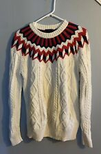 Jcrew Sweater Womens Small S Shirt Blouse Top Long Sleeve