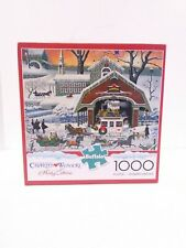 Charles Wysocki Holiday Collection Twas The Twilight Before Christmas Puzzle