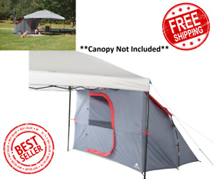 Camping Outdoor Tent 4-Person , 2-Window Straight-leg Canopy Sold Separately
