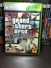 GTA Grand Theft Auto: San Andreas PH (Microsoft Xbox 360, 2008)