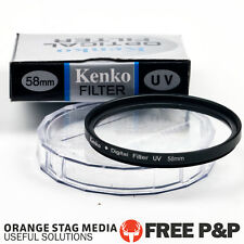 Kenko 58mm UV Filter Lens for Pentax Canon Nikon Olympus All 58mm lens