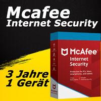Mcafee Internet Security 2021 Vollversion Deutsch ESD für 3 Jahre / 1 Geräte