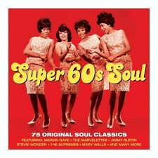 SUPER 60s SOUL -Mary Wells-Stevie Wonder-Marvin Gaye-Joe Tex (NEW SEALED 3CD)