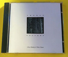 Trance Factory • Chris Halaby & Marc Ream • ultra rare CD/used&vg • will ship WW