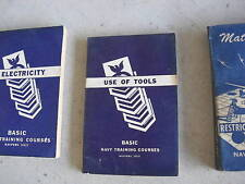 1945 Navy Book Use of Tools NAVPERS 10623 LOOK