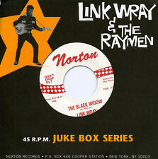"LINK WRAY RAYMEN Black Widow / Mustang 7"" NEW mummies gories sonics bunker hill"