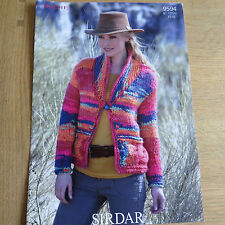 Sirdar Indie Pattern No. 9594 Ladies Cardigan